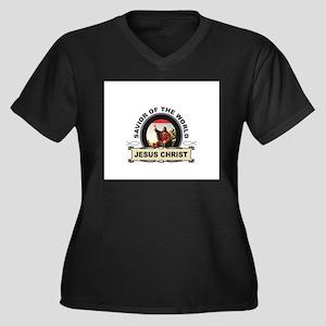 jc savior of the world Plus Size T-Shirt