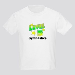 Level 5 Gymnast Kids Light T-Shirt