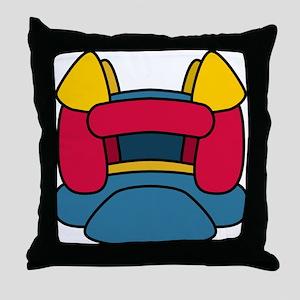 Bouncy Castle Throw Pillow