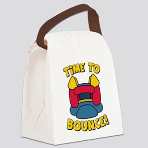 Time To Bounce Canvas Lunch Bag