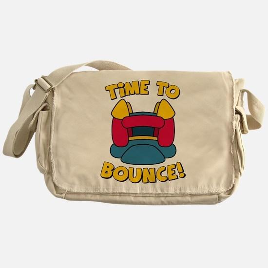 Time To Bounce Messenger Bag