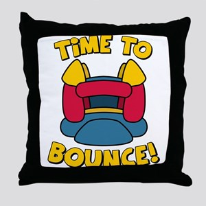 Time To Bounce Throw Pillow