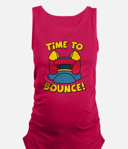 Time To Bounce Maternity Tank Top