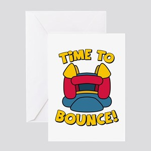 Time To Bounce Greeting Cards