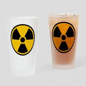Radioactive Symbol Drinking Glass