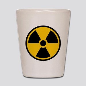 Radioactive Symbol Shot Glass