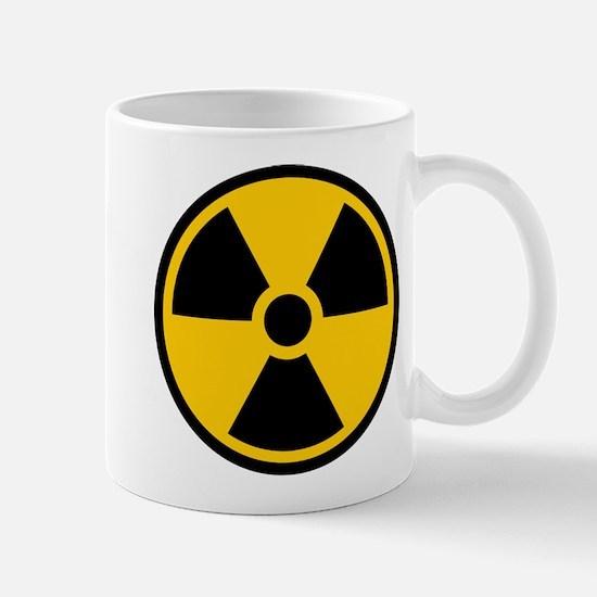 Radioactive Symbol Mugs