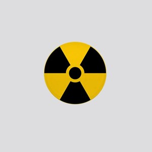 Radioactive Symbol Mini Button