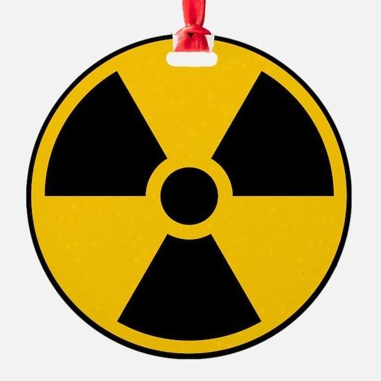 Radioactive Symbol Ornament