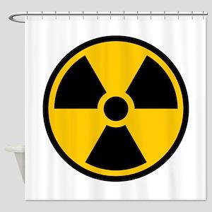 Radioactive Symbol Shower Curtain