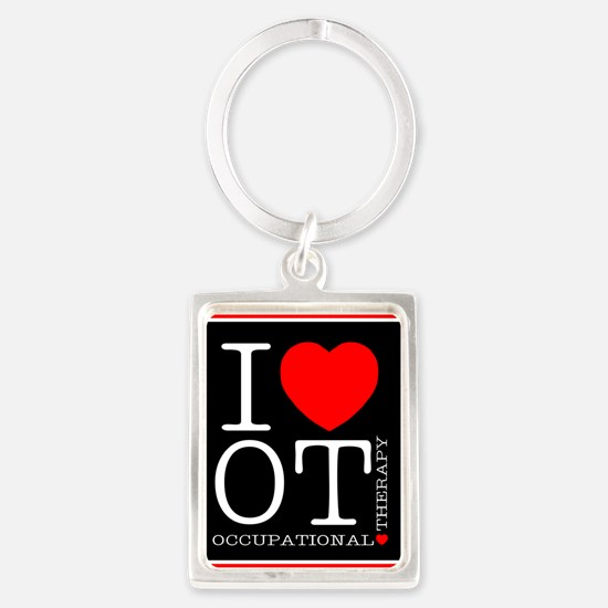 I Love Occupational Therapy Keychains