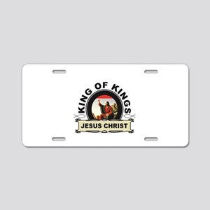 jc king of kings yeah Aluminum License Plate