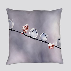 Birds Everyday Pillow