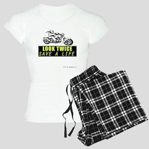 LOOK TWICE SAVE A LIFE Women's Light Pajamas