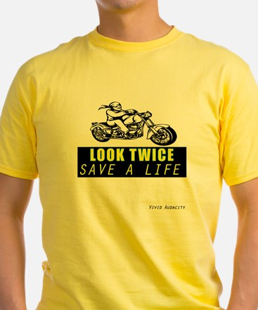 LOOK TWICE SAVE A LIFE T