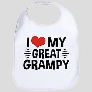 I Love My Great Grampy Bib