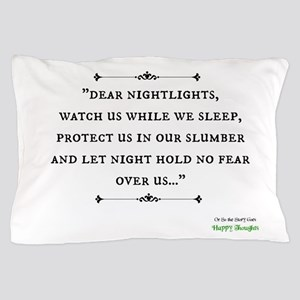 """Nightlights"" Happy Thoughts Pillow Case"