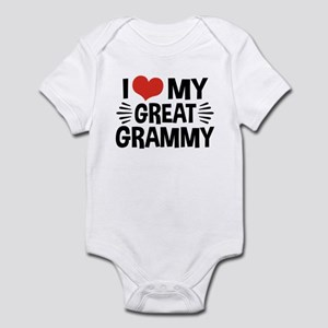I Love My Great Grammy Infant Bodysuit