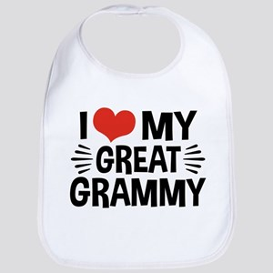 I Love My Great Grammy Bib