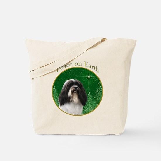 Havanese Peace Tote Bag