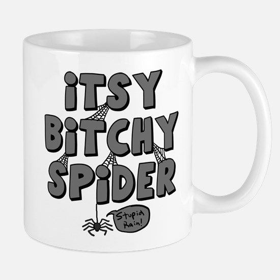 Itsy Bitchy Spider Mugs
