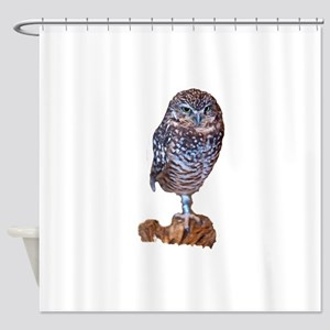 Wise as an Owl Shower Curtain