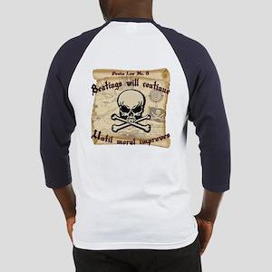 Pirates Law #8 Baseball Jersey