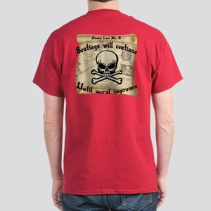 Pirates Law #8 Dark T-Shirt