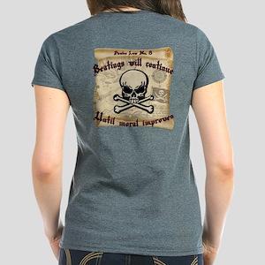 Pirates Law #8 Women's Dark T-Shirt