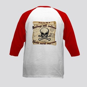 Pirates Law #8 Kids Baseball Jersey