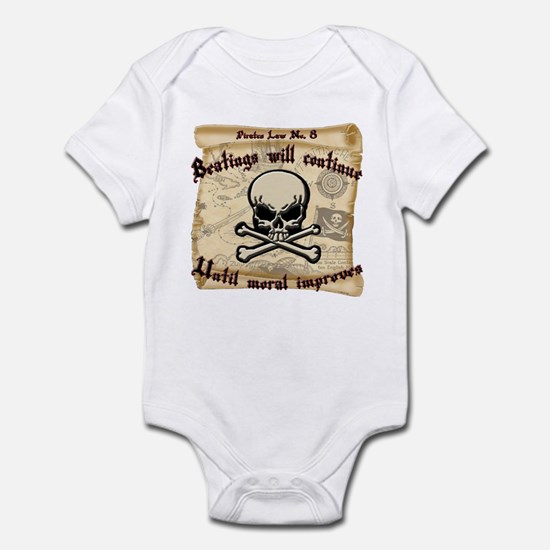 Pirates Law #8 Infant Bodysuit