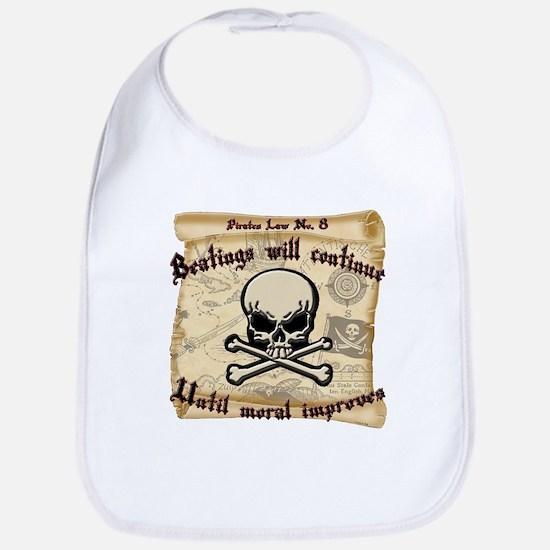 Pirates Law #8 Bib