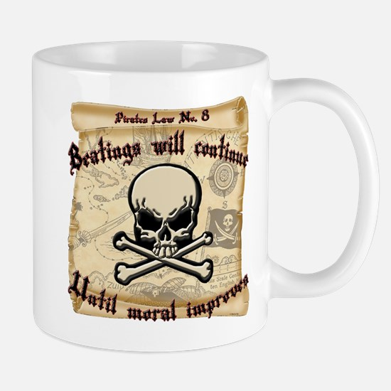 Pirates Law #8 Mug