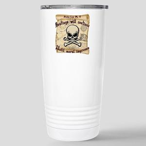 Pirates Law #8 Stainless Steel Travel Mug