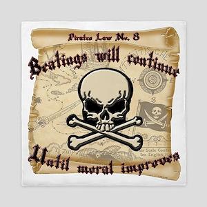 Pirates Law #8 Queen Duvet