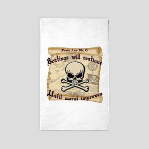 Pirates Law #8 Area Rug