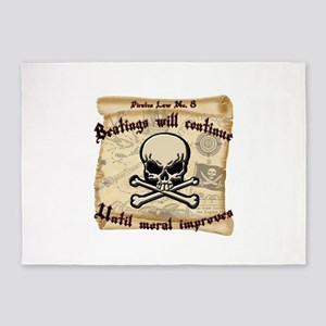 Pirates Law #8 5'x7'Area Rug