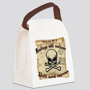 Pirates Law #8 Canvas Lunch Bag