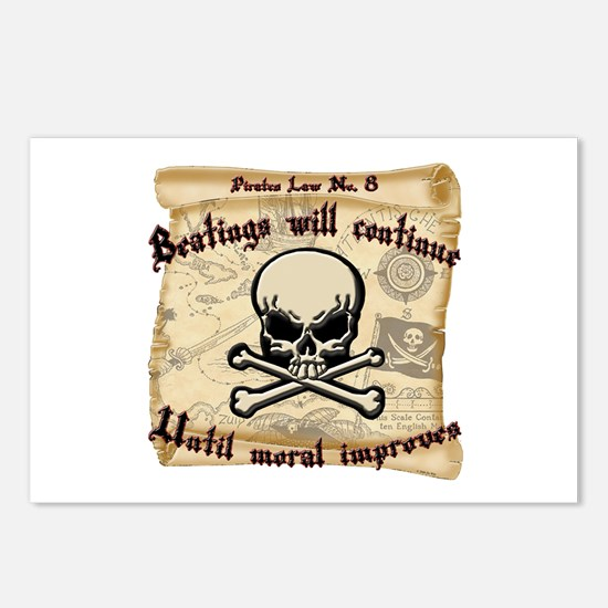 Pirates Law #8 Postcards (Package of 8)