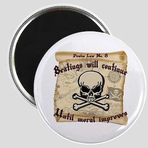 Pirates Law #8 Magnet
