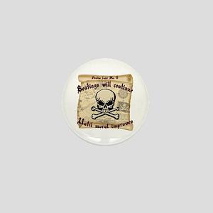 Pirates Law #8 Mini Button