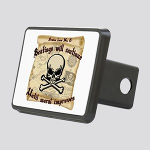 Pirates Law #8 Rectangular Hitch Cover