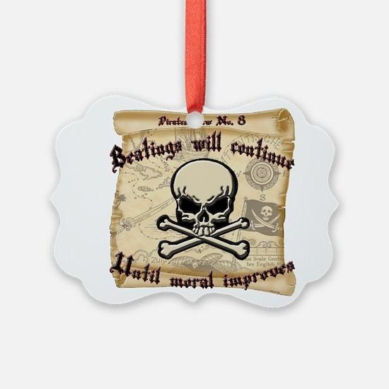 Pirates Law #8 Ornament