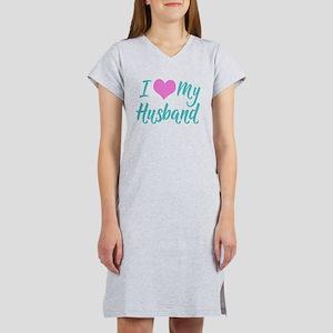 I Love My Husband Women's Nightshirt