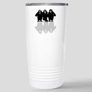 3 monkeys Stainless Steel Travel Mug