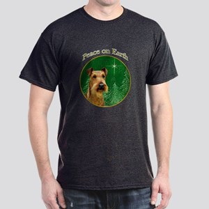 Irish Terrier Peace Dark T-Shirt