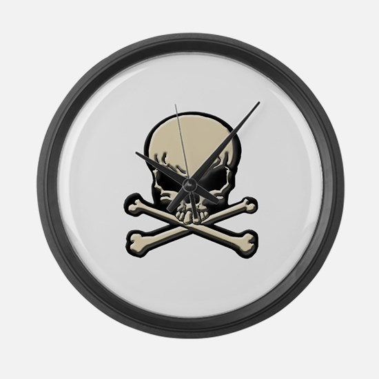 Pirates Law #8 Large Wall Clock