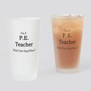 P.E. Teacher Drinking Glass