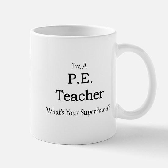 P.E. Teacher Mugs