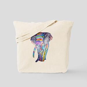 Rainbowphant Tote Bag